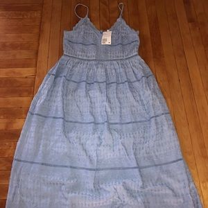 Never worn H&M dress, baby blue, size 4